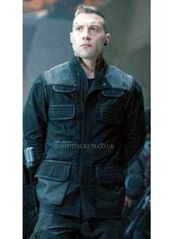 Eric Insurgent Jai Courtney Costume Black Jacket