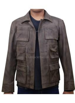 Mortal Kombat X Jason Voorhees Brown Leather Jacket