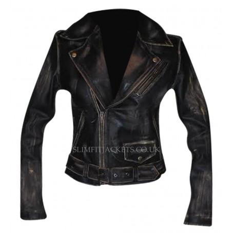 Kate McKinnon Ghostbusters Jillian Holtzmann Leather Jacket