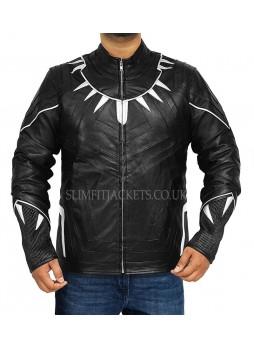 Avengers Infinity War Black Panther (Chadwisk Boseman) Black Costume Jacket