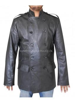 The Green Hornet Bruce Lee (Kato) Black Leather Jacket