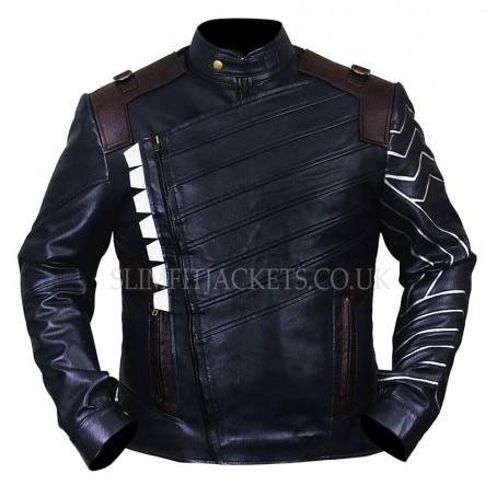 Avengers Infinity War Winter Soldier (Bucky Barnes) Costume Jacket