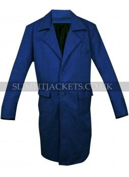 Newt Scamander Fantastic Beasts Magizoologist Blue Wool Coat