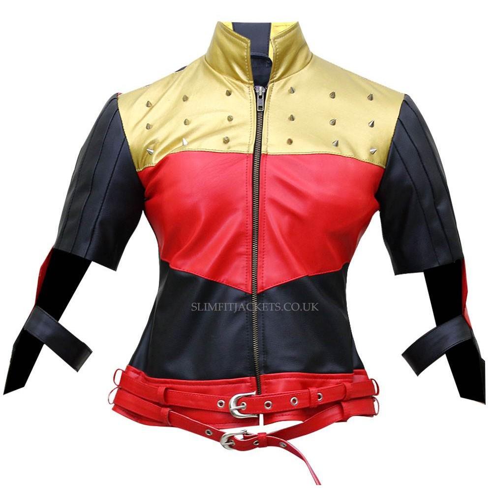 Injustice Gods Among Us Harley Quinn Kiss This Jacket