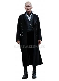 Johnny Depp Fantastic Beasts The Crimes Of Grindelwald Coat