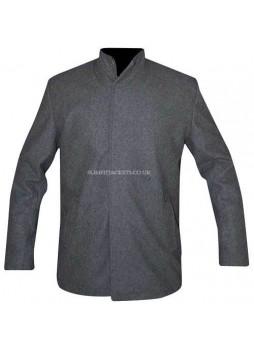 Vin Diesel The Last Witch Hunter Kaulder Grey Leather Jacket