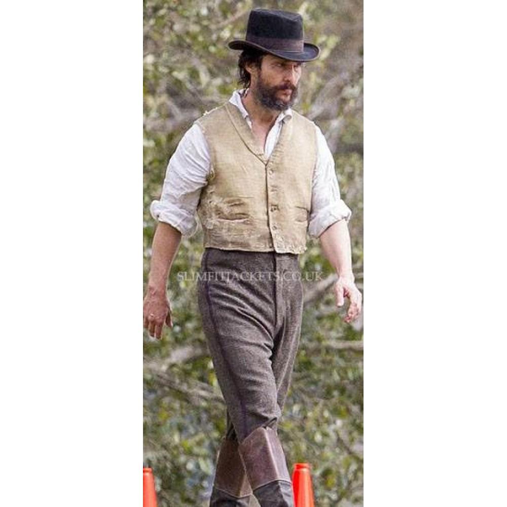 Newton Knight Free State of Jones Matthew McConaughey Vest
