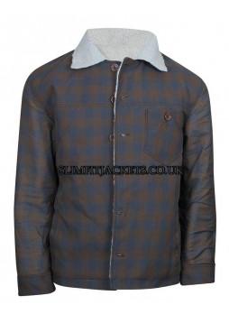 Nice Guys Ryan Gosling Fur Shearling Jacket