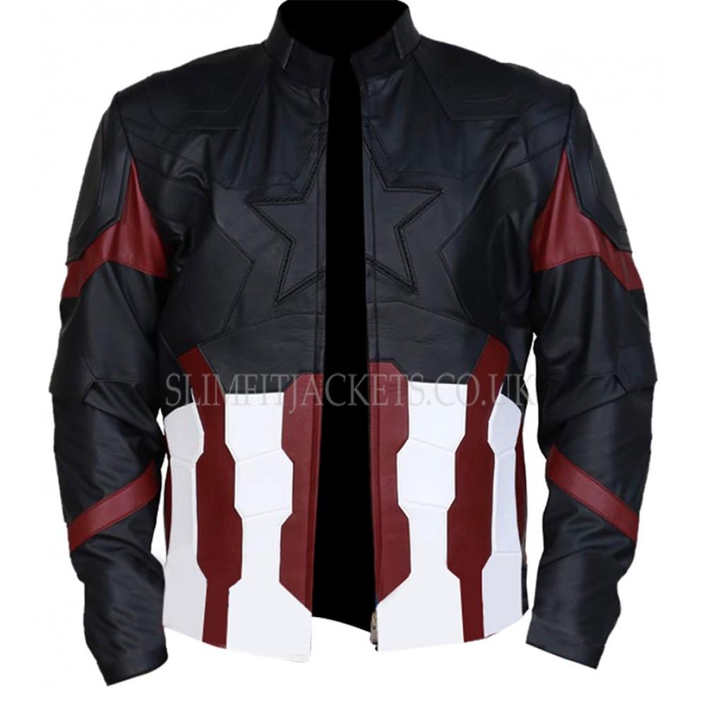 Avengers Infinity War Steve Rogers (Captain America) Costume Jacket
