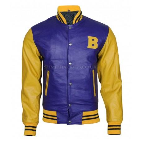 Letterman (Michael J Fox) Teen Wolf Bomber Jacket