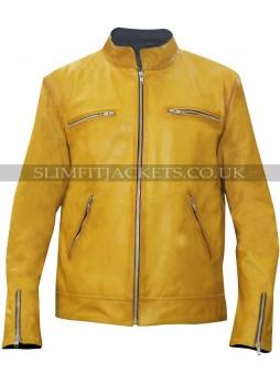 Detective Dirk Gently (Samuel Barnett) Yellow Jacket