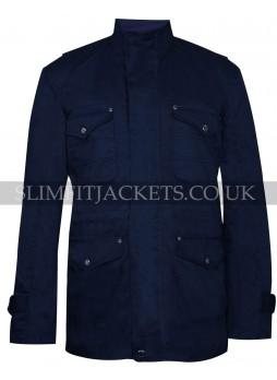 Dean Winchester Supernatural Season 9 Blue Cotton Jacket