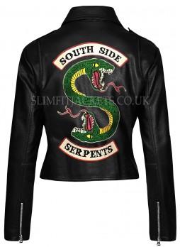 Riverdale Southside Serpents Leather Jacket For Women