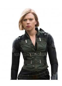 Black Widow Avengers Infinity War Natasha Romanoff Costume Vest