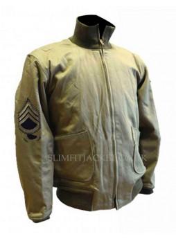 Brad Pitt Fury Tanker WW2 Jacket