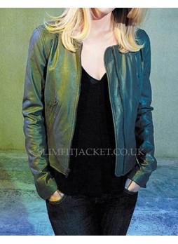 Carrie Mathison Homeland Agent Leather Jacket