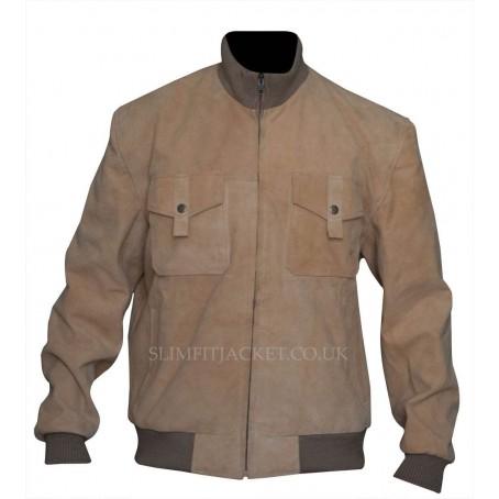 Dwayne Johnson San Andreas Movie Bomber Jacket