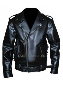 Johnny Depp (Wade Walker) Cry Baby Biker Leather Jacket