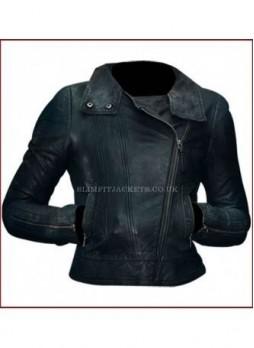 Anna Torv (Olivia Dunham) Fringe Season 5 Biker Jacket